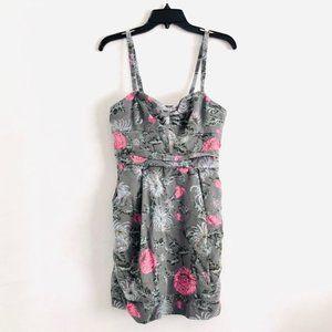 Aritzia Wilfred Floral Drapey Lyocell Dress Size 8